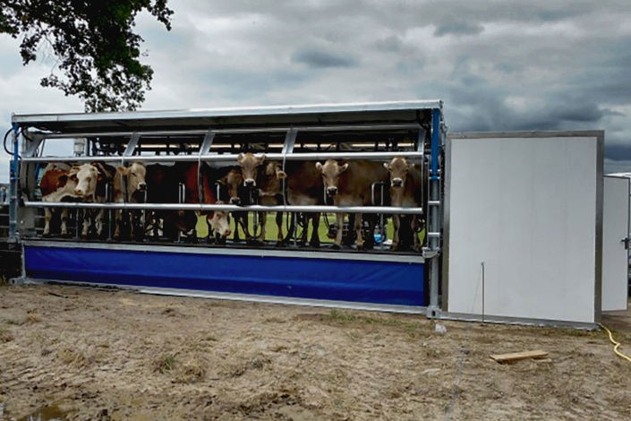 Dairymaster mobistar weide